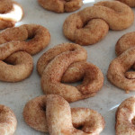 Cinnamon Sugar Figure-Eight Cookies