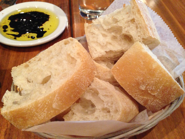 Ciabatta Bread Basket at Rosti