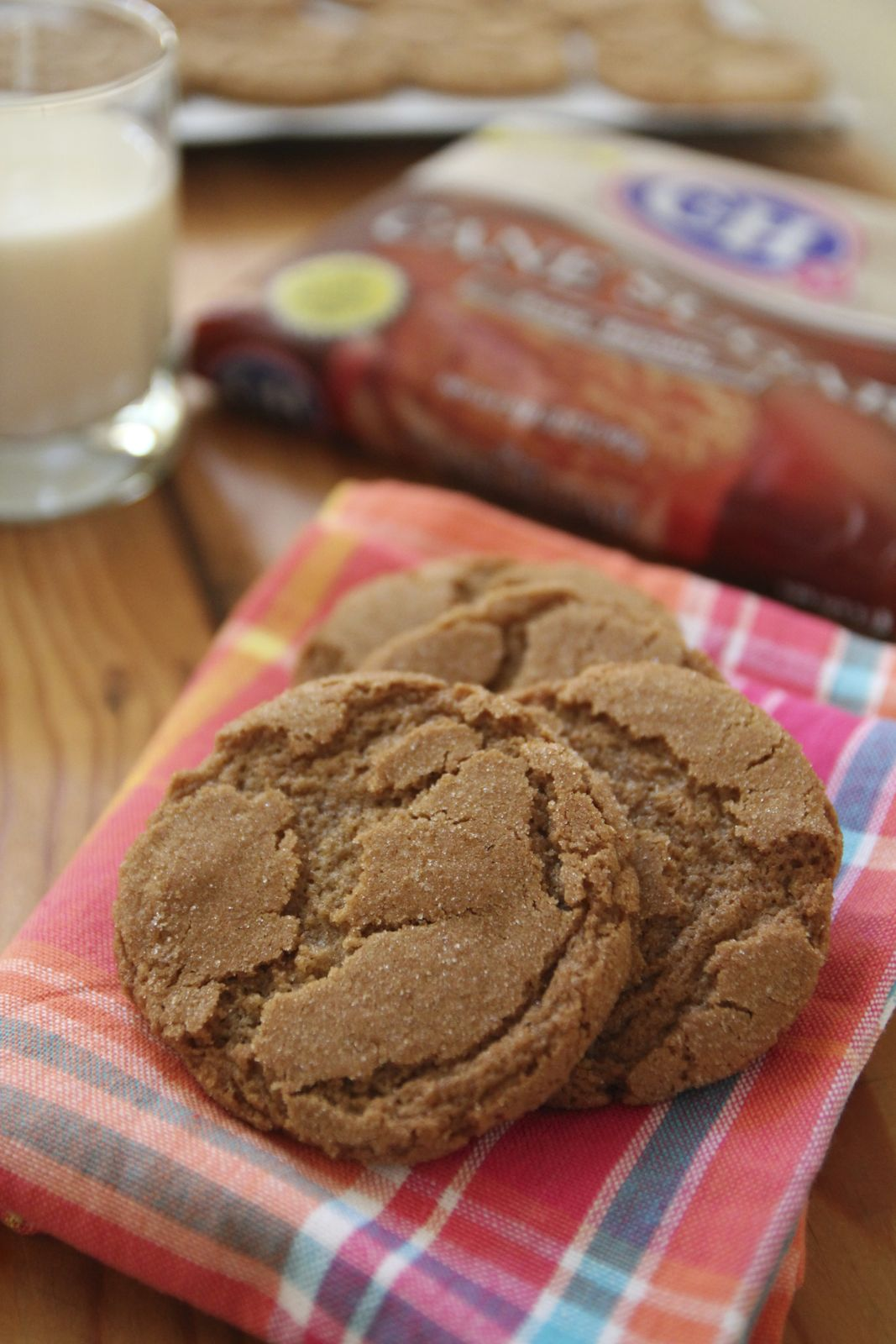 Chewy Brown Sugar Cookies - OrnaBakes
