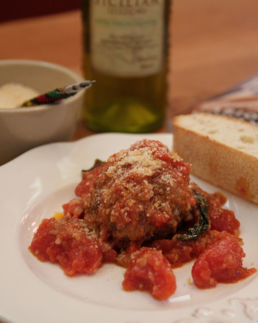 Fabio's Mom's Meatballs made Light