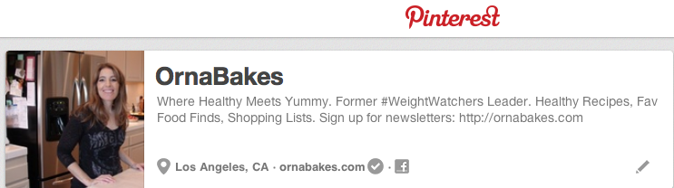 OrnaBakes on Pinterest