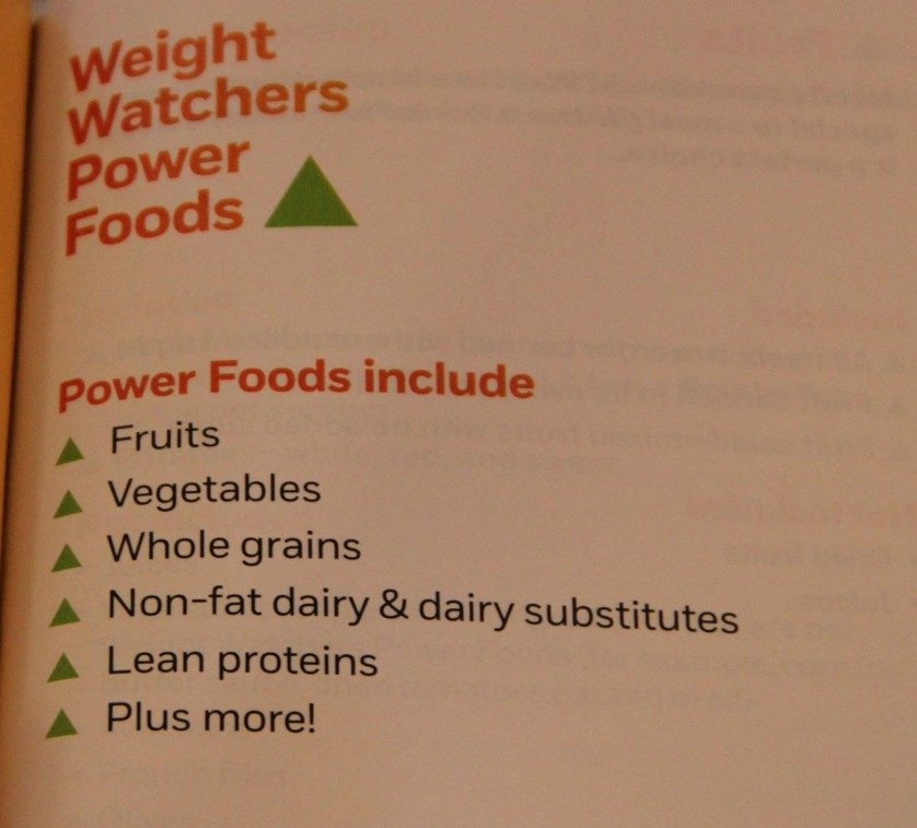 Weight Watchers Power Foods