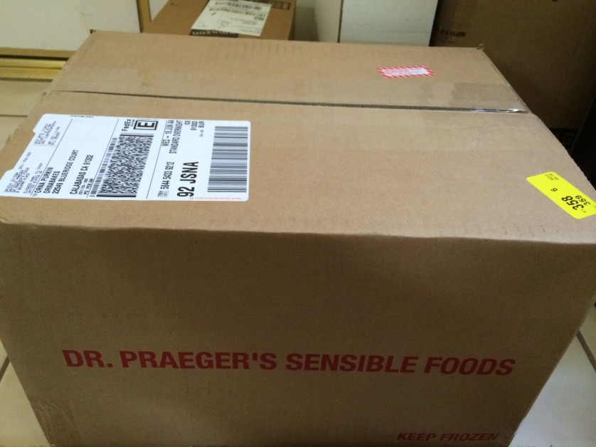 Box from Dr. Praegers