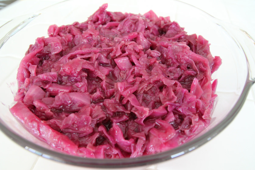 Braised Red Cabbage - OrnaBakes
